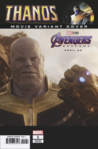 Thanos #1 (Movie Cover)