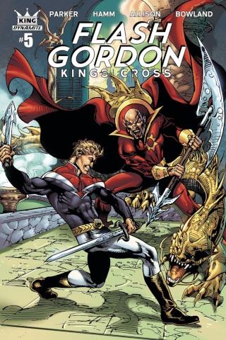 Flash Gordon: Kings Cross #5 (Subscription Cover)