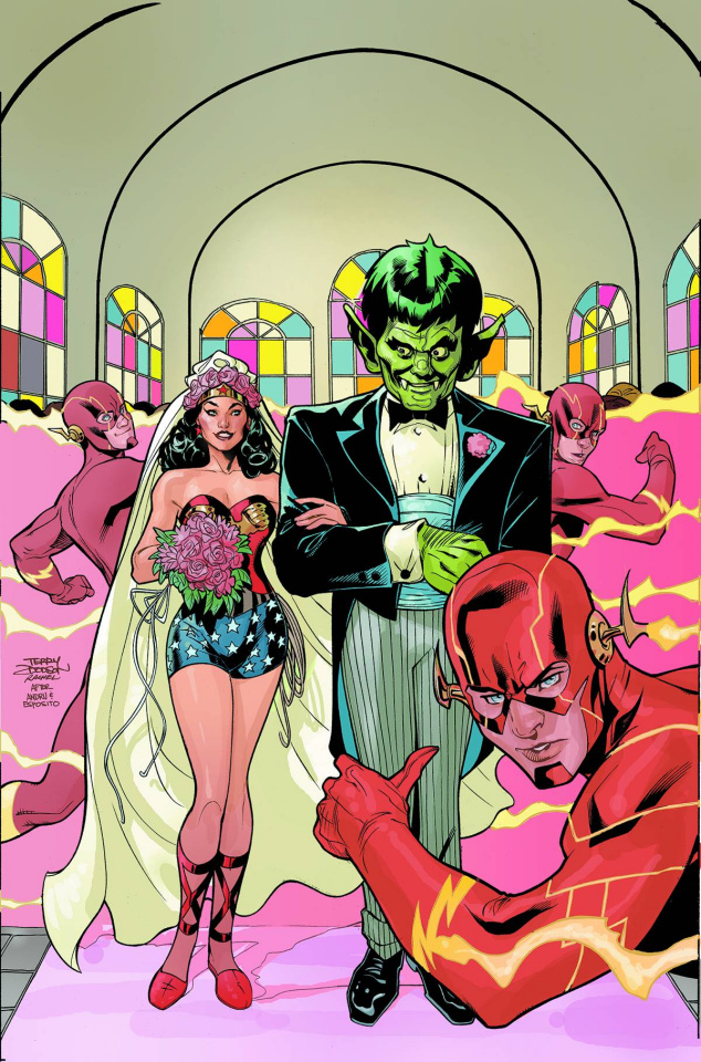 Wonder Woman #38 (Flash Cover)