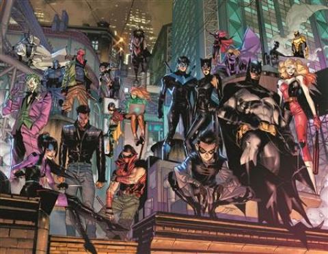 Batman #106 (Jorge Jimenez Wraparound Cover)