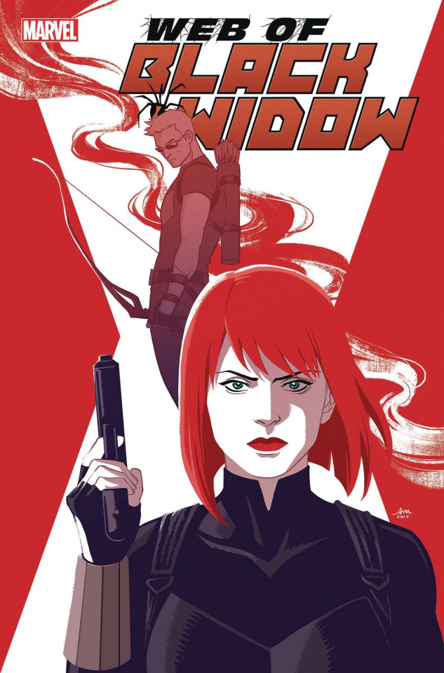 Web of Black Widow #4 (Mok Cover)