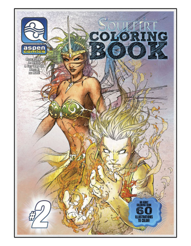 Soulfire Coloring Book Vol. 2