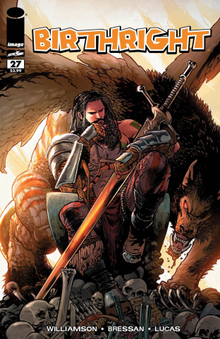 Birthright #27 (Walking Dead #108 Tribute Cover)