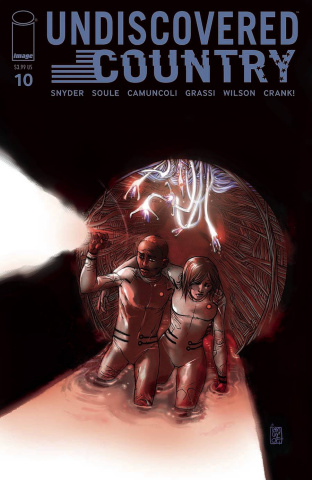 Undiscovered Country #10 (Camuncoli Cover)