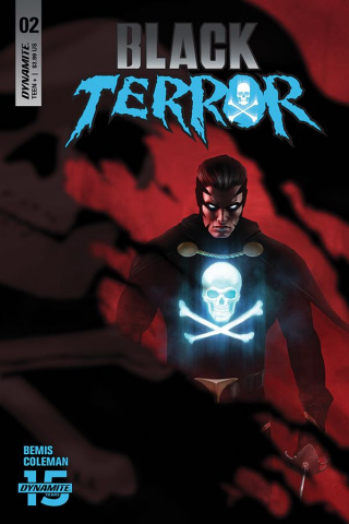 Black Terror #2 (Rahzzah Cover)