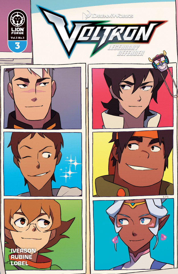 Voltron: Legendary Defender #3 (Carreon Cover)