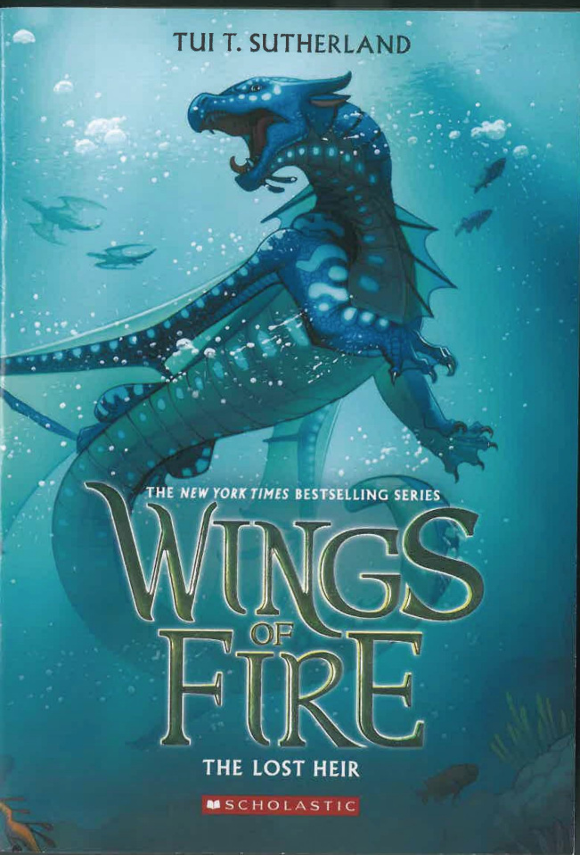 Wings of Fire Vol. 2: The Lost Heir