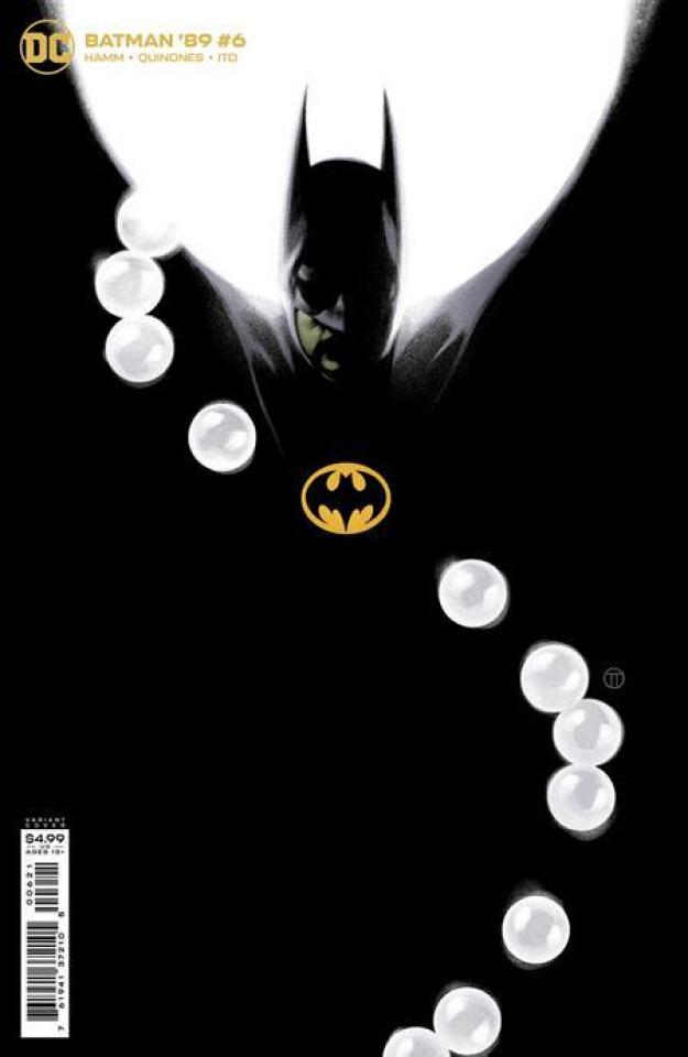 Batman '89 #6 (Julian Totino Tedesco Card Stock Cover)