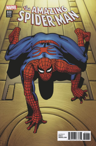 The Amazing Spider-Man #800 (Ditko Remastered Cover)