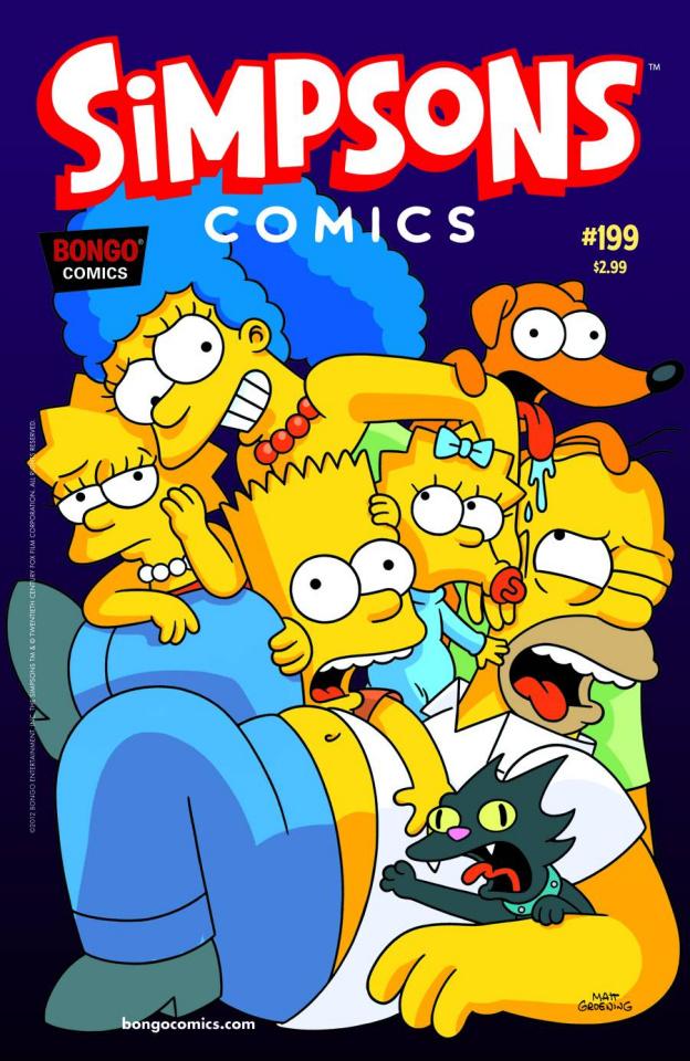 Simpsons Comics #199