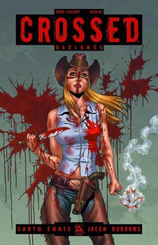 Crossed: Badlands #1 (Calgary Cover)