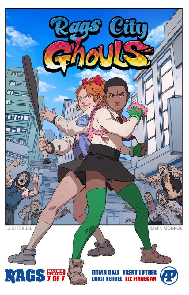 Rags #7 (Rags City Ghouls Cover)