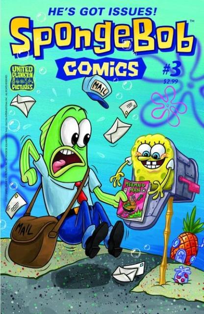 Spongebob Comics #3