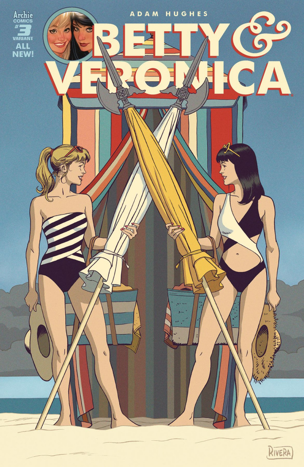 Betty & Veronica by Adam Hughes #3 (Rivera Cover)