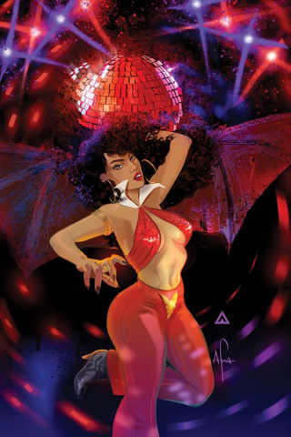 Vampirella #8 (Afua Richardson Virgin Cover)
