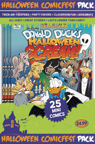 Donald Duck's Halloween Scream! #2 (HCF 2017)