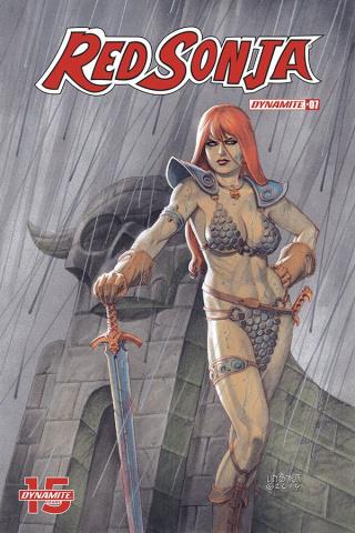 Red Sonja #7 (Linsner Cover)