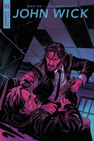 John Wick #1 (Pak Signed Cover)