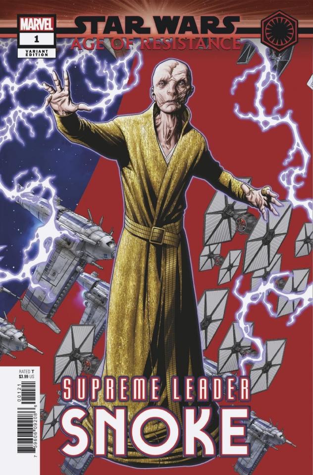 Star Wars: Age of Resistance - Supreme Leader Snoke #1 (McKone Puzzle Cover)