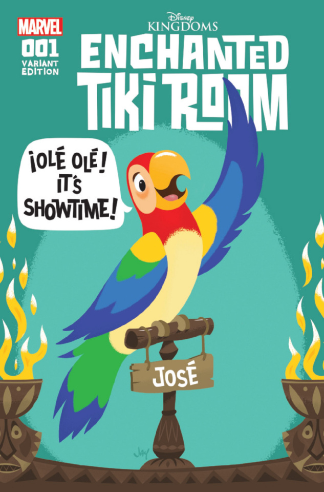 Enchanted Tiki Room #1 (Grandt Connecting Cover)