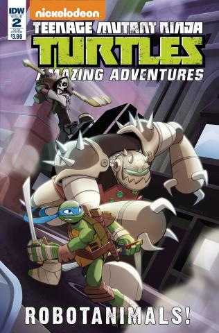 Teenage Mutant Ninja Turtles: Amazing Adventures - Robotanimals #2 (Martin Cover)