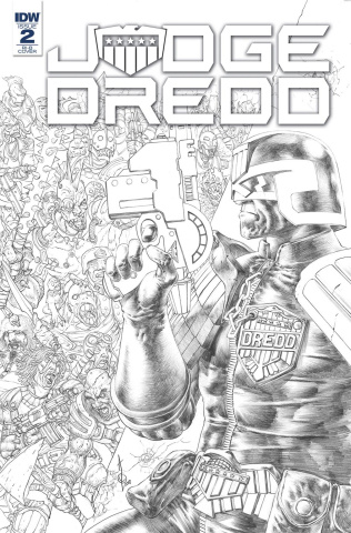Judge Dredd: Under Siege #2 (15 Copy Cover)