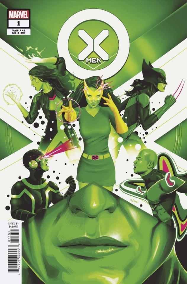 X-Men #1 (Doaly Cover)