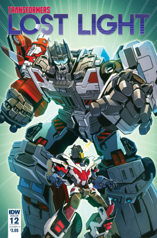The Transformers: Lost Light #12 (Milne Cover)