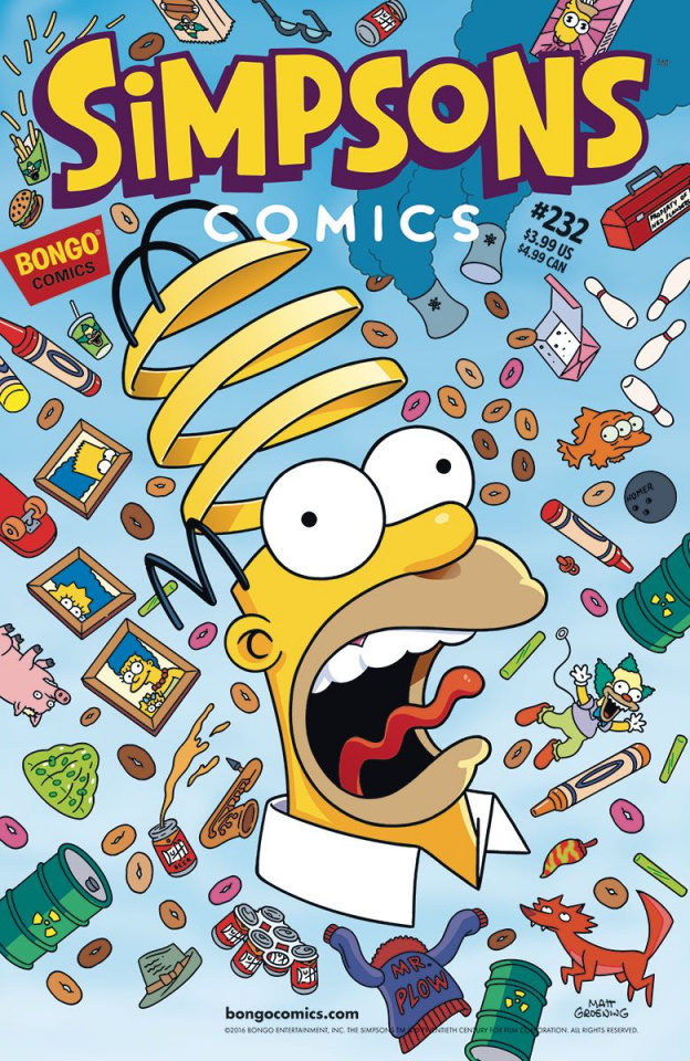 Simpsons Comics #233