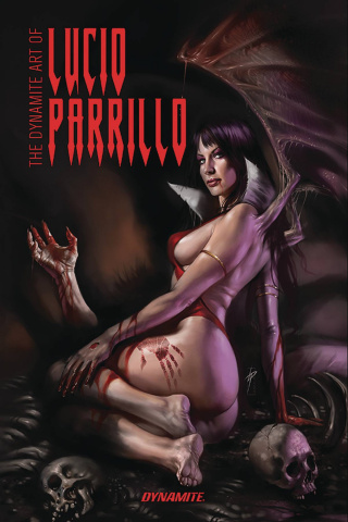The Dynamite Art of Lucio Parrillo (Remarked Edition)