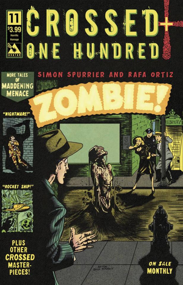 Crossed + One Hundred #11 (Horrific Homage Cover)