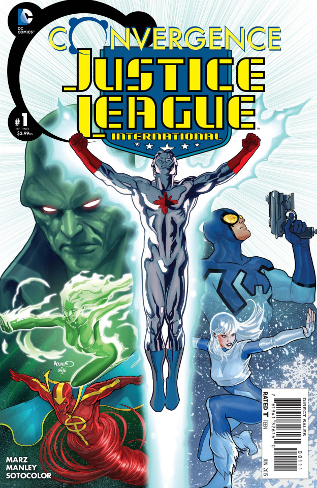 Convergence: Justice League International #1