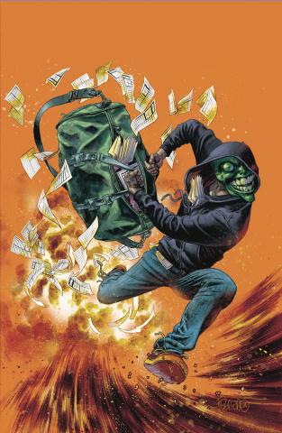 The Mask: I Pledge Allegiance to the Mask #4 (Fegredo Cover)