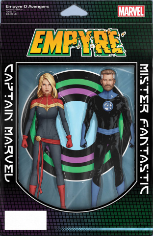 Empyre: Avengers #0 (Christopher 2-Pack Action Figure Cover)