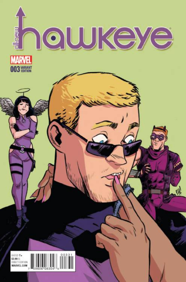 All-New Hawkeye #3 (Henderson Cover)