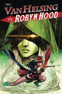 Van Helsing vs. Robyn Hood #3 (Chen Cover)
