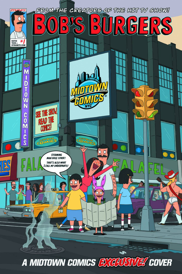 Bob's Burgers #1 (Reynoso Midtown Comics Cover)