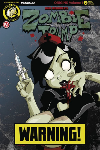 Zombie Tramp: Origins #3 (Mendoza Risque Cover)