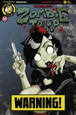 Zombie Tramp: Origins #3 (Mendoza Risque Cover)
