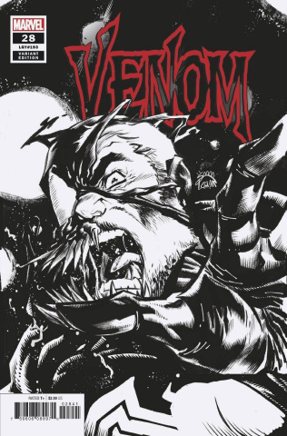 Venom #28 (Stegman Sketch Cover)