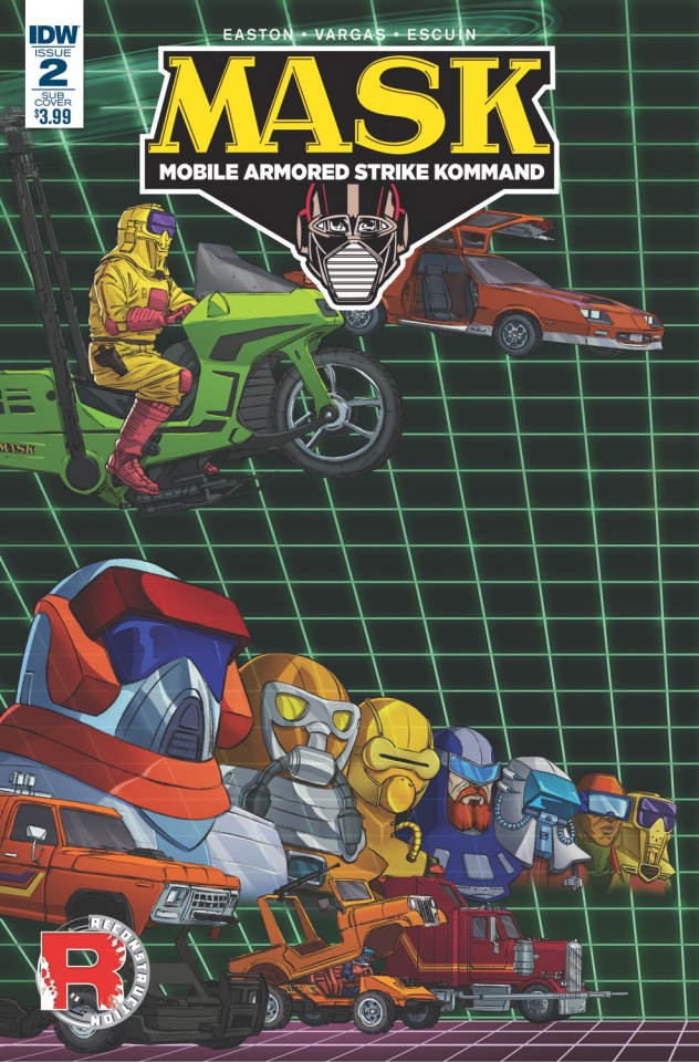 M.A.S.K.: Mobile Armored Strike Kommand #2 (Cover B)