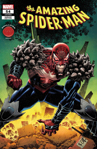 The Amazing Spider-Man #54 (Siquera Knullified Cover)