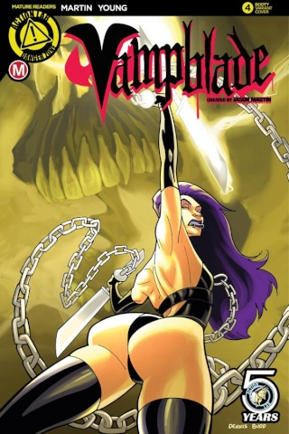 Vampblade #4 (Booty Cover)
