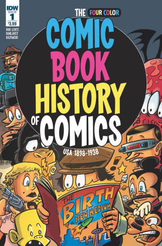 The Four Color Comic Book History of Comics #1
