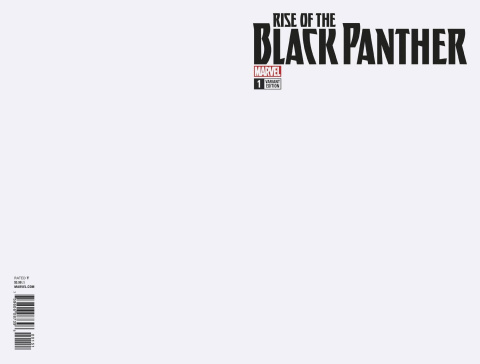 Rise of the Black Panther #1 (Blank Cover)