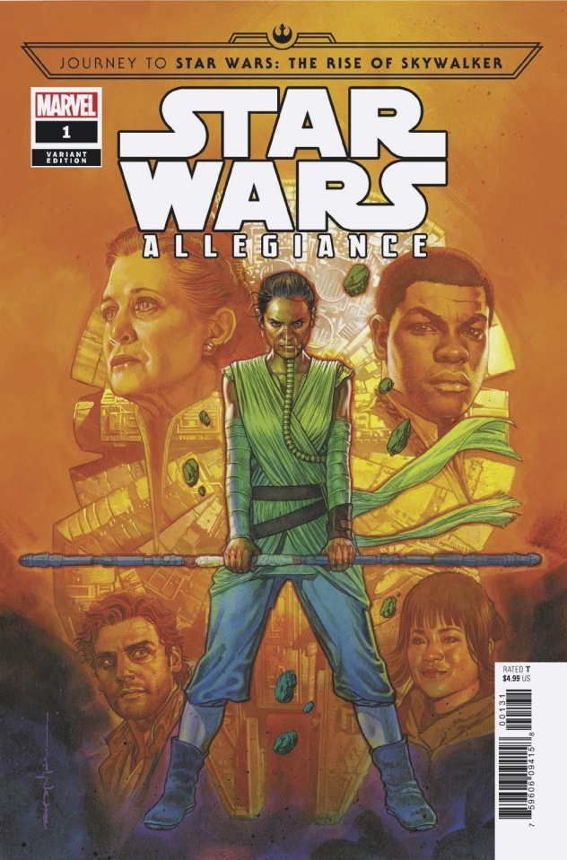 Journey to Star Wars: The Rise of Skywalker - Allegiance #1 (Stelfreeze Cover)