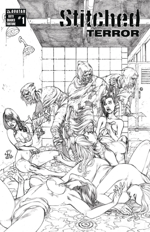 Stitched: Terror #1 (Fifty Shades Torture Cover)