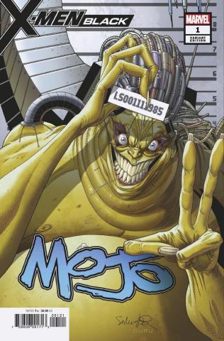 X-Men: Black - Mojo #1 (Larroca Mugshot Cover)
