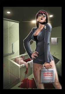 Grimm Fairy Tales: Grimm Tales of Terror #13 (Qualano Cover)