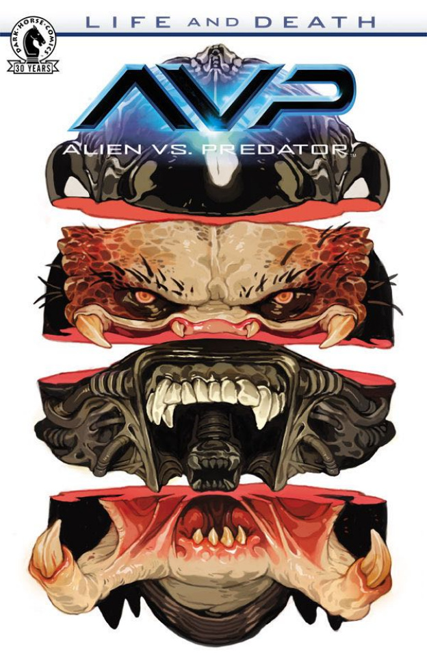 Aliens vs. Predator: Life and Death #1 (Teng Cover)